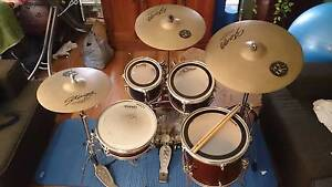 Ashton Kids Size Drum Kit  C/W Stagg sh cymbal pack. (Not a toy). Beechboro Swan Area Preview