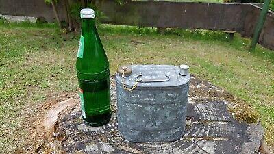 Alte Benzinkanne Zink Spritkanne Petroleumkanne Ölkanne Kanister Oldtimer Dicht Geräte