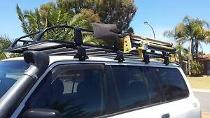 Roof Rack SALE NOW ON Landcruiser Patrol Prado Discovery Pajero Wattle Grove Kalamunda Area Preview