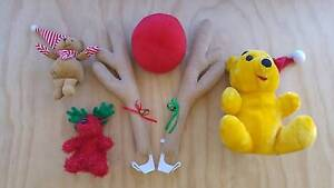 Car Rudolph Antlers and Nose Set + Christmas Soft Toys Adelaide CBD Adelaide City Preview