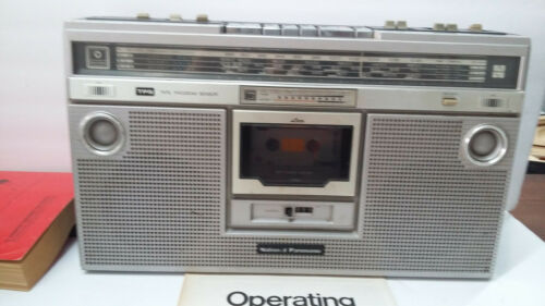 Panasonic AM/FM Cassette Player  Rx 5200F 4 Speaker BoomBox
