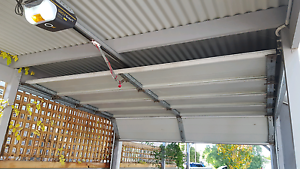Glideral electric  panel roller door Kingston Park Holdfast Bay Preview