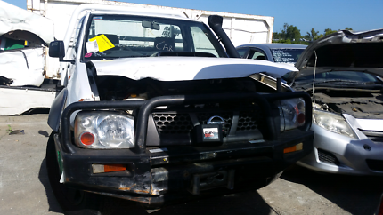 Wrecking Nissan navara 2009 white Rocklea Brisbane South West Preview