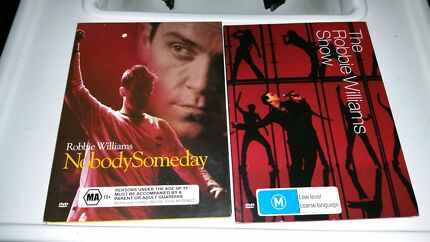 Robbie Williams  - Nobody Someday and The Robbie Williams Show Wembley Cambridge Area Preview