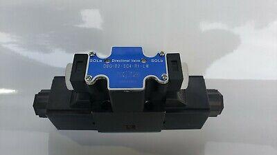 D03 Hydraulic Solenoid Valve 4w3p Closed Center Motor Spool 115 Vac