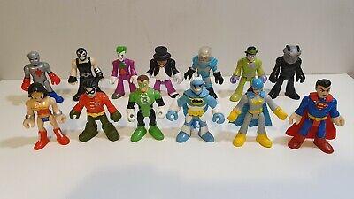 Imaginext Figures Bundle Batman The Penguin Mr Freeze Bane Wonder Woman etc
