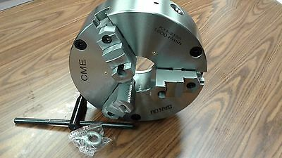 12 3-jaw Self-centering Lathe Chuck Front Mounting For Rotary Tables 1203f0-fm