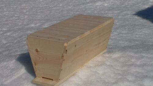 Kenya Bee Hive Top Bar Hive, Bee Keeping Hive Hive Only LARGE