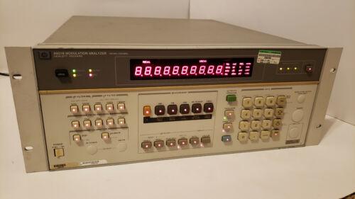 HP AGILENT 8901B 150KHz-1300MHz MODULATION ANALYZER - PARTIALLY TESTED