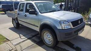 2006 Holden Rodeo LX Duel Cab Tray Ute TURBO DIESEL LOW KMS Williamstown North Hobsons Bay Area Preview