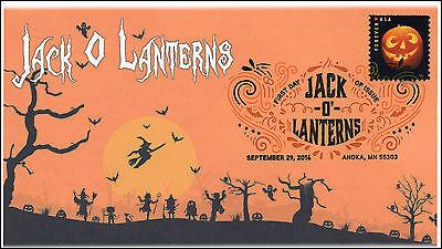 ns, Halloween, Pumpkins, Digital Color Postmark, 16-290 (Digitale Briefmarken Halloween)