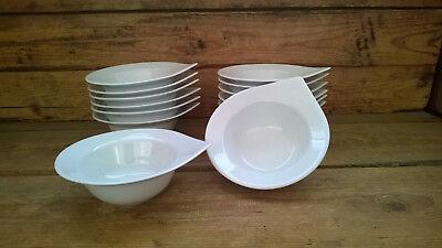 tschalen Beilagenschale ca.300ml Porzellan weiß Gastronomie  (Suppe Tassen)