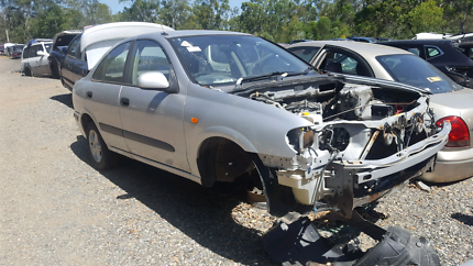 2002 NISSAN PULSAR SILVER FOR WRECKING