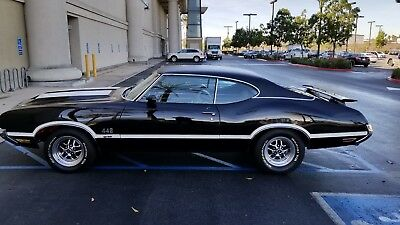 "1972 Oldsmobile documented 442 W-30 with numbers matching engine, ""X"" code car"