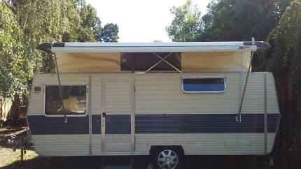 14 ft Futura poptop caravan