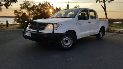 CLEAN CHEAP 2007 TOYOTA HILUX DUAL CAB DIESEL UTE WITH REG AND RW