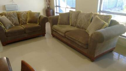 2 Sofa's    Two seater x 1   Three seater x 1 Deception Bay Caboolture Area Preview