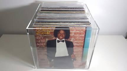 C-Thru Vinyl Record Storage Box for 12 inch singles and LP