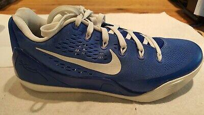 Nike Kobe 9 ID. Blue White Royal Blue Men's Size 8 1/2 shoes. Custom and Rare!!