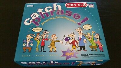 Catch Phrase Board Game -Complete, VGC- 2007/1994 Party Game - Board Game Party