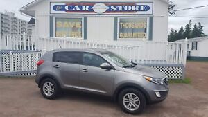 2013 Kia Sportage LX HEATED SEATS!! BLUETOOTH VOICE ASSIST MP3/U