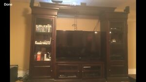 Tv/stereo/gaming wall unit