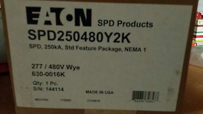 Surge Suppressor Eaton Spd250480y2m 250 Ka Std Nema 1 - 277480 V Wye