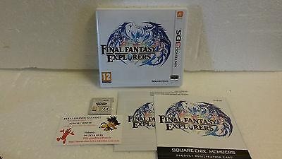 Jeu Vidéo Nintendo 3DS/2DS Final Fantasy Explorers VF Square Enix RPG Complet