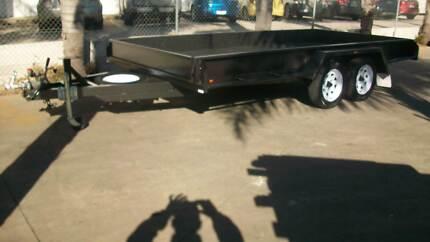 "14 x 6'6"" B/S Car Carrier Tandem Trailer + Tailgates 1990Kg GVM Epsom Bendigo City Preview"