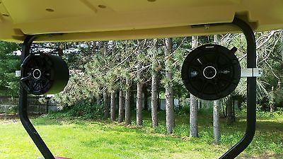 Golf Cart KICKER Stereo Speakers EZ GO Club Car Radio Console Pod Enclosures Golf-cart Stereo