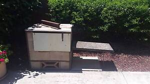 Cement Brick BBQ Taperoo Port Adelaide Area Preview