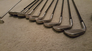 Set of 9 golf clubs, PGF 2000 Yarraville Maribyrnong Area Preview