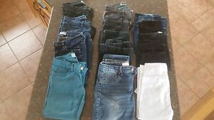 8 pairs of jeans + 6 pairs of tights - All for $20