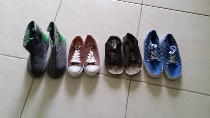 Boys shoe bundle size 12  -3 mostly new