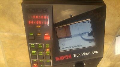 Mph True View In-car Digital Recording Video System Head Police
