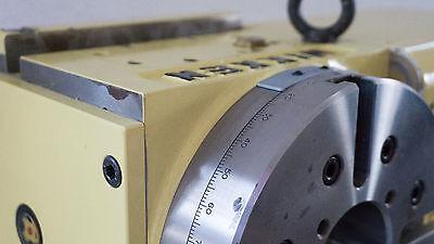 NIKKEN Rundschalttisch Rundtisch Teilapparat 4. Achse CNC NSVZ 180 Hirthverzahnt