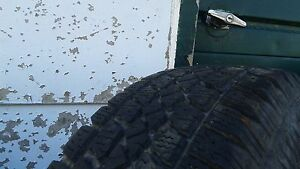 195/70-14 ArticClaw set tires and rims 6+mm tread asking $95 obo Kingston Kingston Area image 4