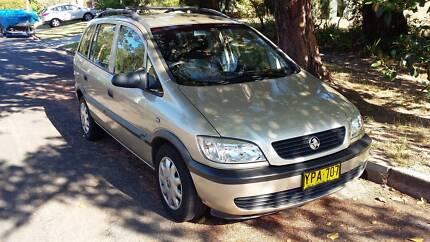 2003 Holden Zafira - 7 seats