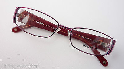Versace Glasses Exclusive Ladies Protection Eyewear Extra Wide Frame Red SIZE (Extra Wide Eyeglass Frames)