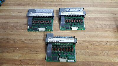 Allen Bradley Slc500 Output Module 1746-ob16 Ser D Lot Of 3