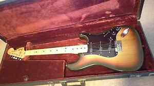 1979 Fender Stratocaster tobacco sunburst hard tail Double Bay Eastern Suburbs Preview