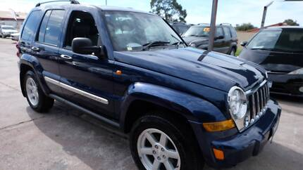 2006 Jeep Cherokee Limited 4X4 Wagon LOW KM's $10990 St James Victoria Park Area Preview