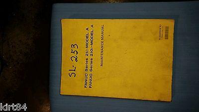 Mori Seiki Sl 253 Fanuc 21 I Model A Maintenance Manual