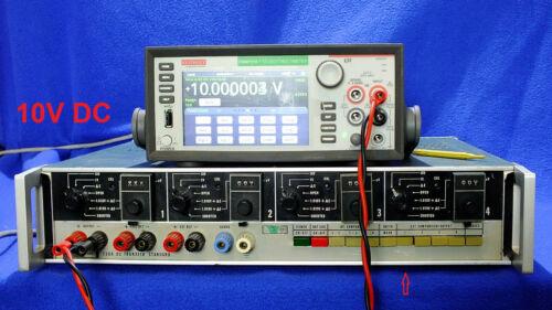 Fluke 730 4 Channel DC Transfer Standard Working