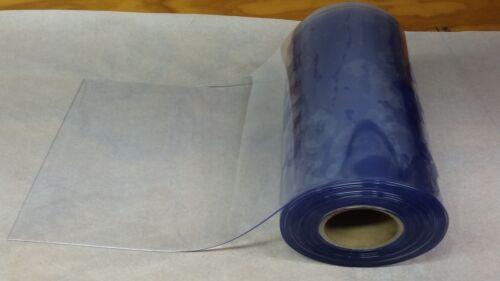 """CLEAR DOOR STRIP  PVC VINYL    12"""" WIDE x 12 ft x 80mil"""
