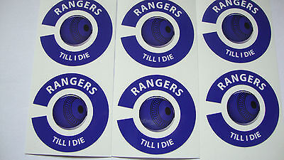 NEW QUALITY RANGERS 16 CROWN GREEN BOWLS STICKERS LAWN BOWLS  8 THUMB & 8 FINGER