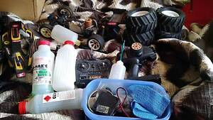 RC nitro cars x2 plus lots of other gear Mill Park Whittlesea Area Preview