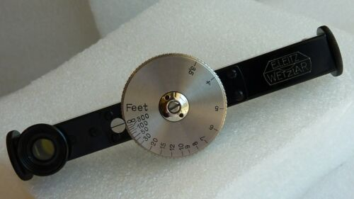 Leica/E.Leitz FOFER near rangefinder in black enamel & nickle dial excellent