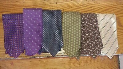 Lot of Ties Made In Italy - Andrew's Ties, Altea, Faconnable, Isaia Sevenfold