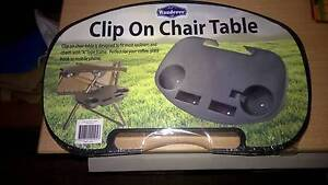 WANDERER CAMPING CLIP ON CHAIR TABLE TO HOLD YOUR DRINKS ETC Kingsgrove Canterbury Area Preview